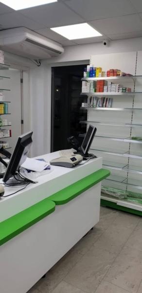 Аптечно обзавеждане